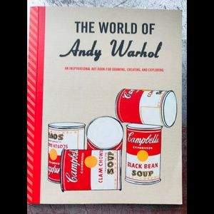 The World of Andy Warhol coloring activity book
